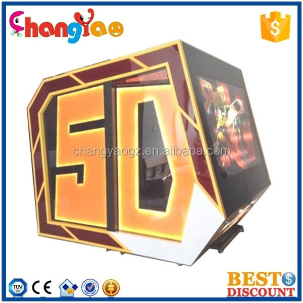 Hot Selling Luxurious Mini 5D Cinema 5D Theater 5D Movie 5D Chair 5D Seat