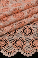 2014 fashion cotton crochet lace fabric