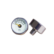 all stainless steel barometer with center back connection