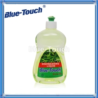 Blue-Touch brand 500ml (OEM) Ultra Dishwashing Liquid with Green Tea Essence