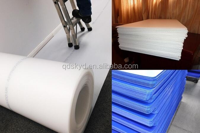 Colorful 4X8 Corrugated Coroplast Plastic Sheets