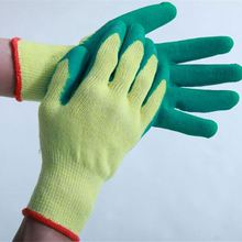[Gold Supplier] HOT SALE! Wholesalec latex coated cotton saftey gloves for working