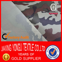 150T-210T CAMO print PVC material for bag