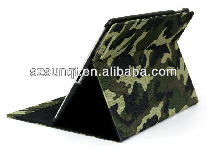 Brand New Camouflage Rotary tablet Case