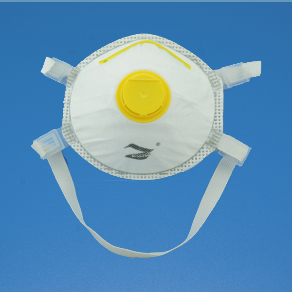 Easy to wear disposable dust pollen face mask