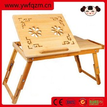 bamboo study desk folding bed table