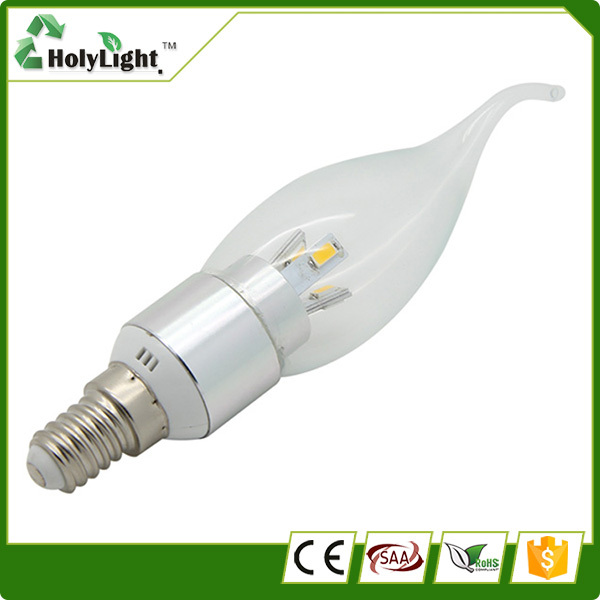 High Lumen low cost E14 LED candle bulb children wall light