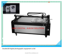 crystal MDF photo album cover /frame making machines price