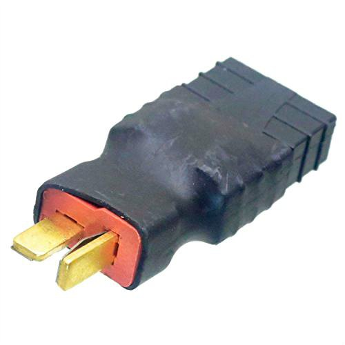 Convert battery with deans T plug Male to Traxxas Female plug no wire