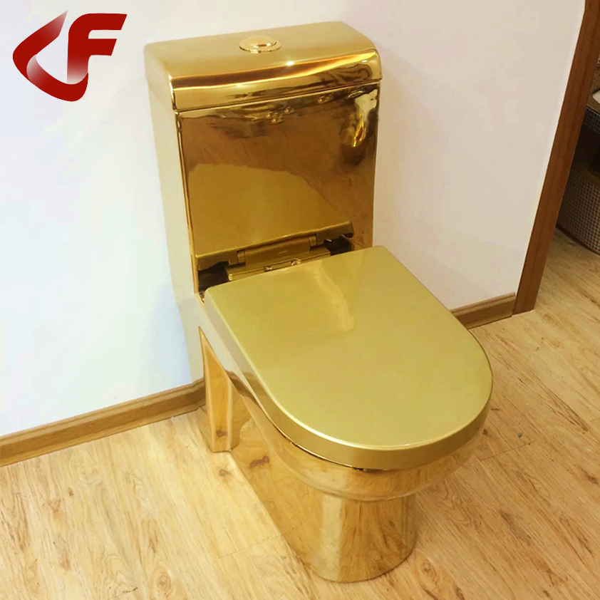Factory Customized Ceramics Solid Color Black Red Gold Toilet Buy Gold Color Toilet Gold Color Toilet Gold Color Toilet Product On Alibaba Com