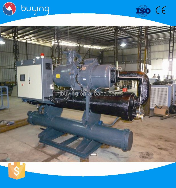 Industrial Shell Type 150 kw Water Chiller Water Cool Chiller 50 hp