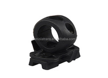 Single Clamp for flashlight Plastic Flashlight Holder rifle scope ring Mounts