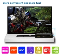 Best selling products IPTV set top box DVB-S2+T2 Openbox V8 combo TV Antenna Support Youtube Youporn USB WIFI Cccam Newcam Mgcam
