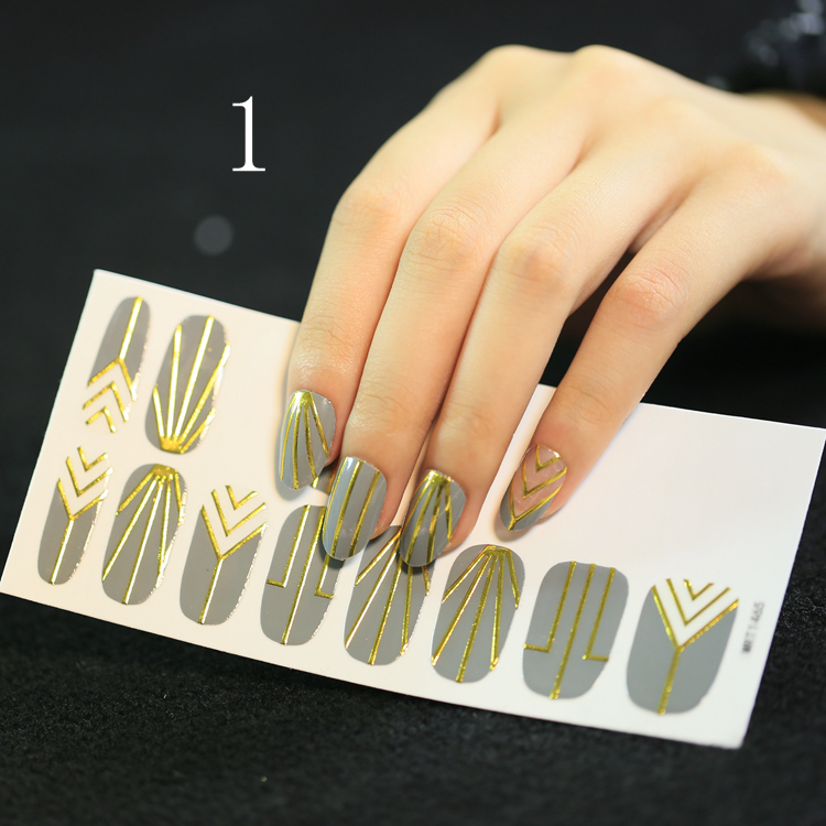 3D Nail Art Decoration nail sticker wholesale for Manicure