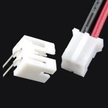 OEM ODM RoHS compliant jst terminals wire 2 pin connector for pcb board