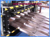 gutter roll forming machine LMS automaticlly corrugated Tile roll forming machine