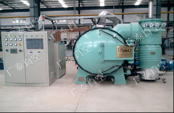 single-chamber vacuum heating treatment furnace
