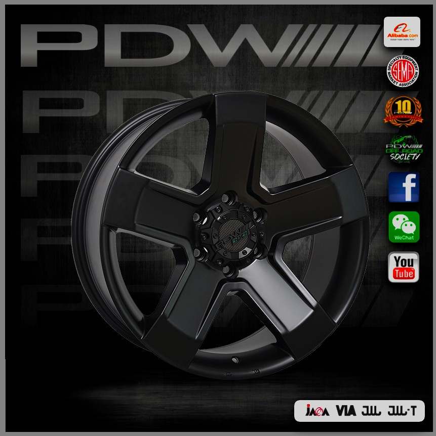 PDW brand replica verde wheels, China alloy wheels factory since 1983