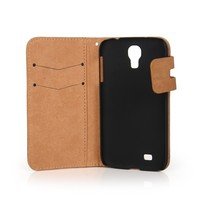 Factory PU leather cell phone case for samsung galaxy s4
