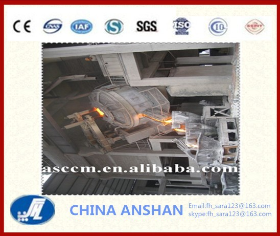 CCM 50-150tons industrial electric arc furnace (eaf)
