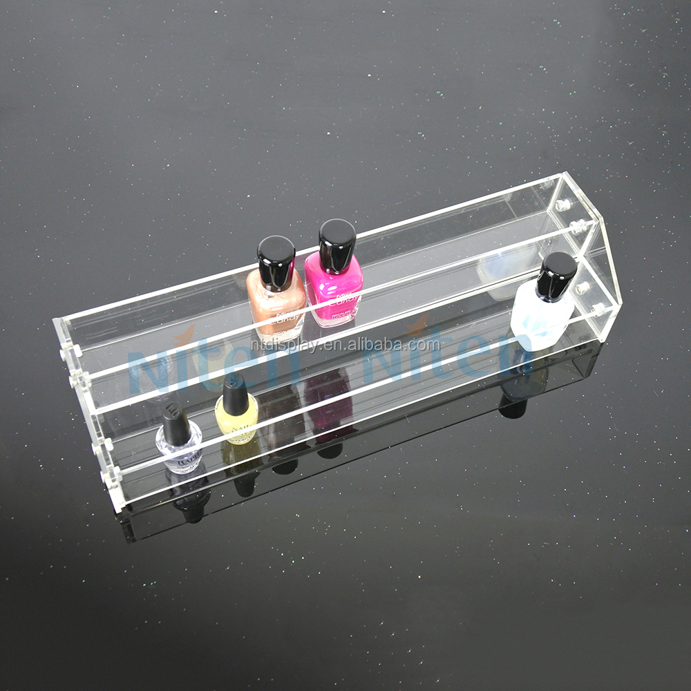15DAYS delivery 3 sections nail polish acrylic display