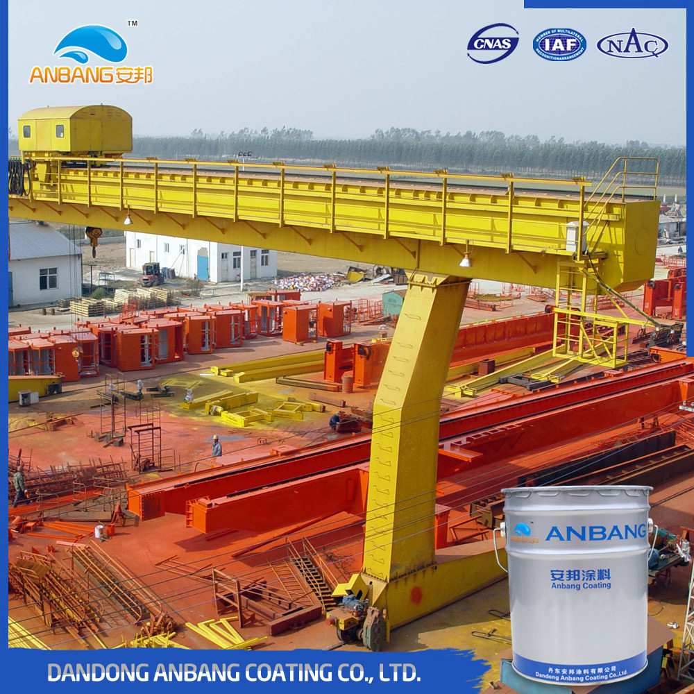 AB224 outdoor heavy duty machinery coating UV resistant polyurethane paint