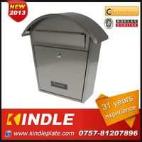Kindle Professional waterproof cast plastic mailbox for sale with 31 years experience