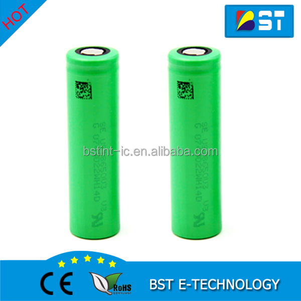 Newest 18650 2250mAh 10A Discharge Lithium ion Battery Cell US18650V3 V3 18650 batteries
