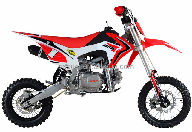 CE OFF ROAD BIKE RED COLOR DIRT BIKE 125cc 140cc 150cc 160cc CRF 110 plastic cover polular model in 2015