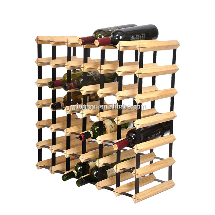 OEM production used commercial wine racks for decoration display