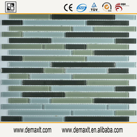 irregular mosaic crystal glass swimming pool mosaic Glass tile decoration building material