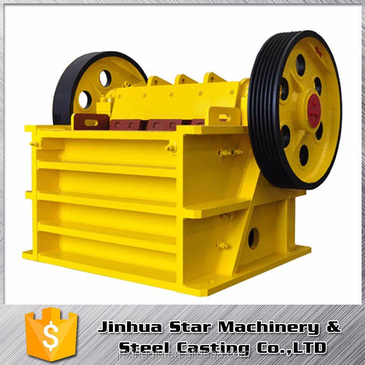Road construction Light weight OEM jaws crushers