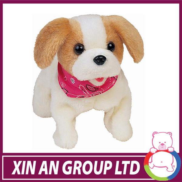 ICTI and Sedex audit custom design EN71 cute small walking barking dogs toy
