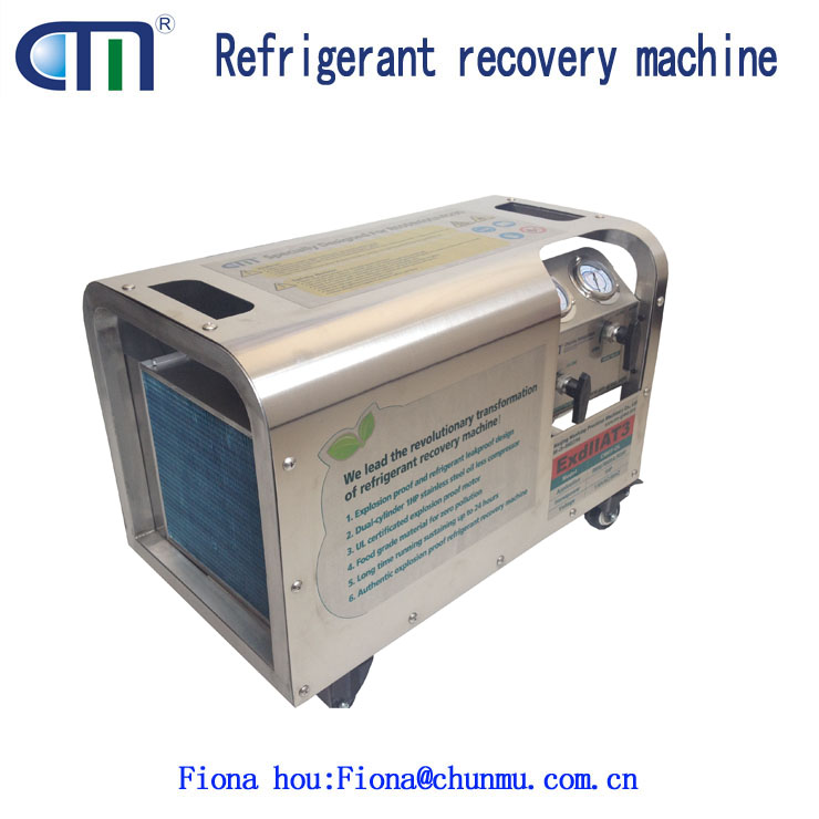 A/C Refrigerant Recovery Unit with Current Protection Design CMEP-OL