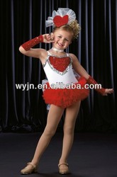 hot selling lovely children's dancing stage wear with good quality and good price OEM serves