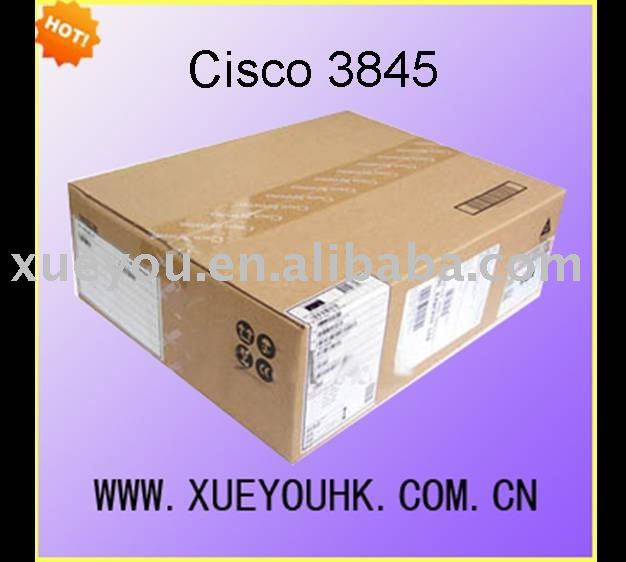 original new Cisco 3800 series integrated service router cisco 3845