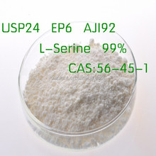 GMP Supply 99% L-Serine powder CAS 56-45-1Free Samples for L-Serine price