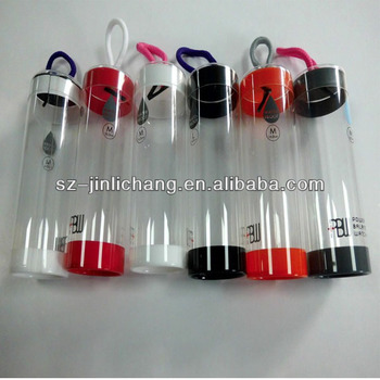 pretty plastic cylinder transparent tube boxes