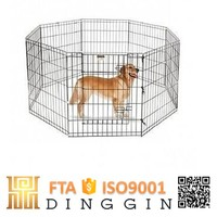 Folding metal outdoor dog fence suppliers