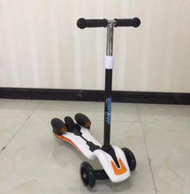 Best price kids balance pedal kids scooter 3 wheel/kick board scooter for sale/best selling custom kick scooter