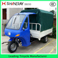 Factory Price!!! CHINA CABIN THREE WHEEL MOTORCYCLE TRICYCLE WITH ROOF