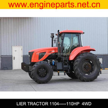 100hp 110hp 120hp 140hp 180hp 220hp 400hp 4WD farm agriculture tractor cheap for sale