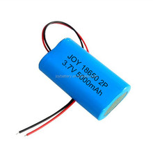 ICR18650-25RM 1S2P 3.7V 5000mAh rechargeable li-ion battery pack with PCB