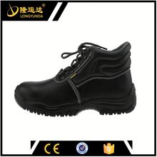 Black leather safety shoes protect ankle safety boots en345 standard safety boots