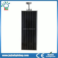 12v 12w integrated garden solar panel ip65 led street light