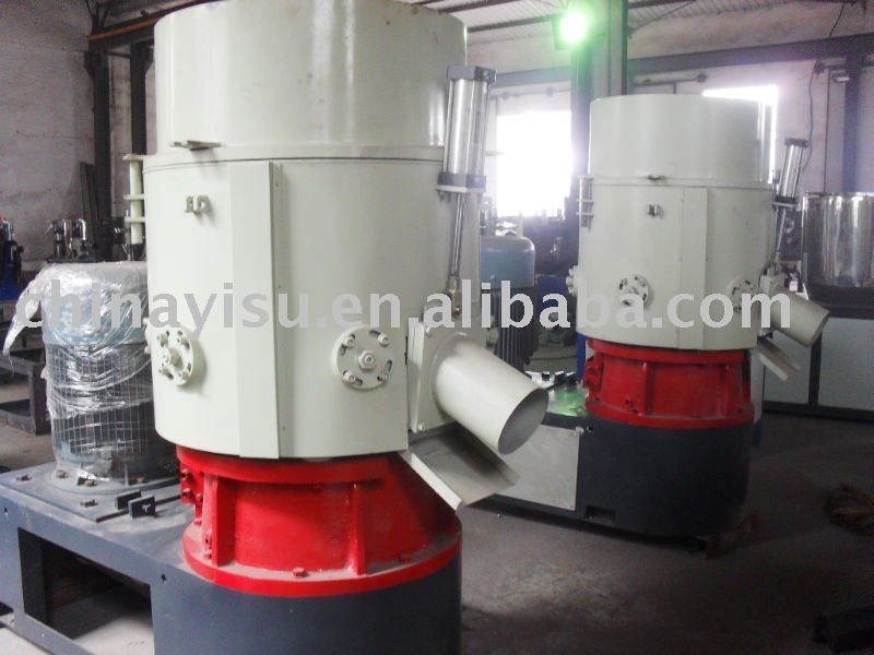 plastic bags recycling machine/agglomerator/film compactor