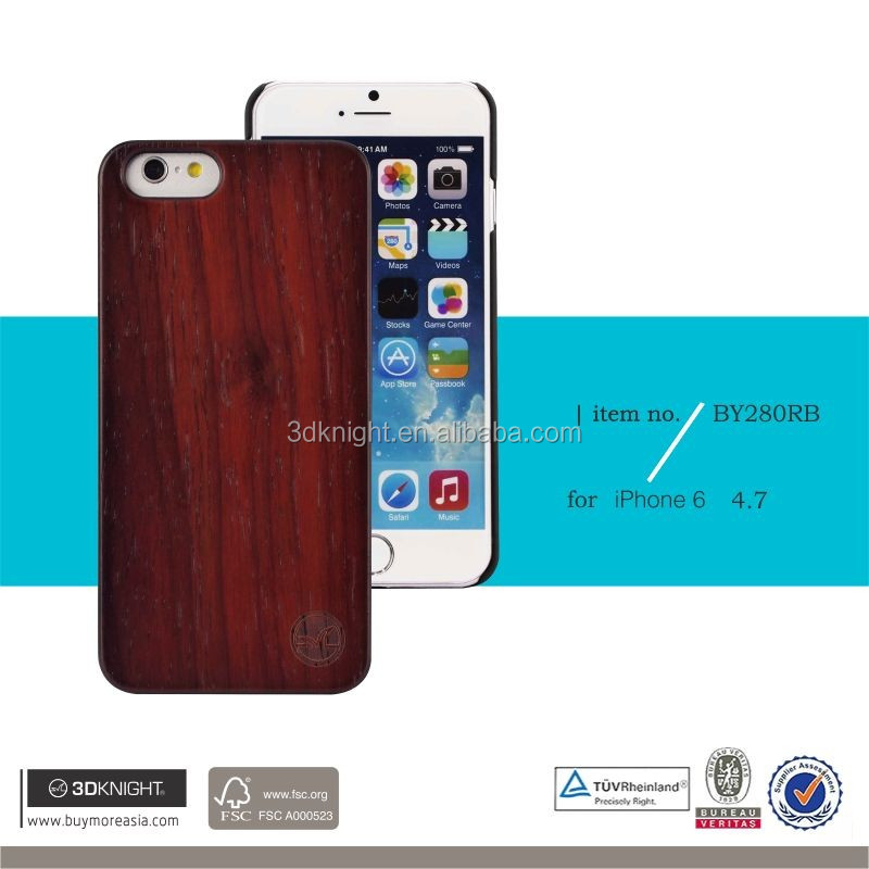 Wood Hard Carved Pattern For Apple iPhone6S 5S 6 6Plus Case Cover Bamboo Hybrid, Wood Bamboo Custom Blank Phone Bumper
