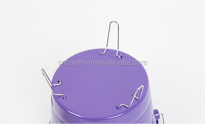Bucket Shaped Charcoal BBQ Grill with Handle, Promotion Bucket Grill/BBQ Bucket/Fire Bucket OEM Orders Accepted