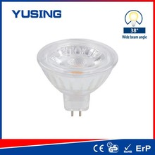 Glass LED MR16 12V COB MR16 LED Light 3W LED Spotlight Bulb