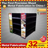 OEM customized decoration metal display shelf with 32-year experience